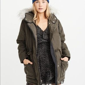Abercrombie Hooded Puffer